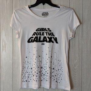 EUC Star Wars women's graphic tee sz XXL
